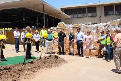 6/11/19 Ninth Grade Center groundbreaking ceremony