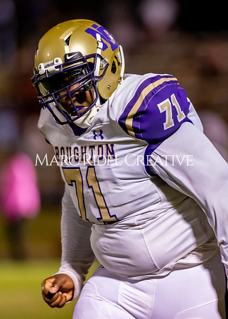 Broughton Varsity football at Southeast Raleigh. October 4, 2019. D4S_5301