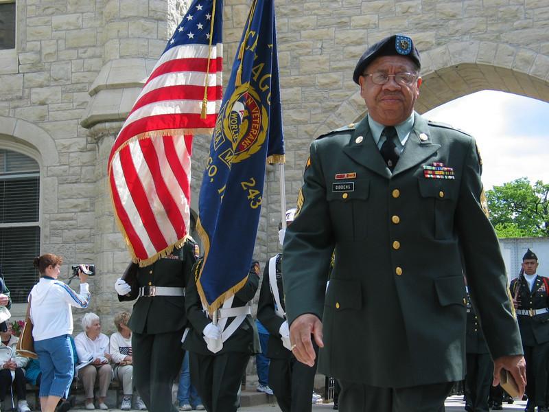 Sergeant Major Raymond Giddens