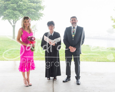 Petoskey Wedding Wayne & Kendra with Judge Rosemarie Aquilina as officiant