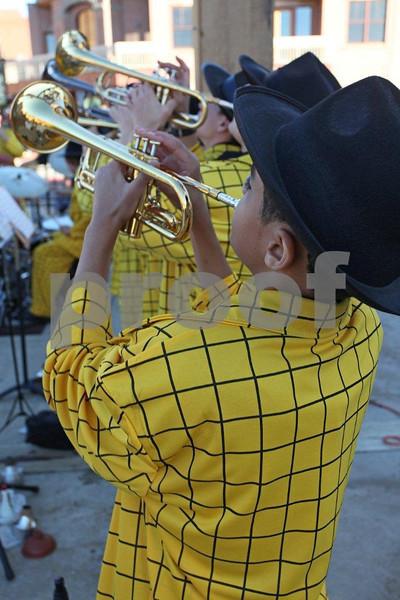 """Park City high school band"" , 0075"
