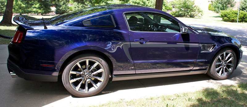 2012 Ford Mustang Blue