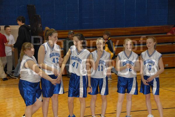 8th grade girls bball . st. rita tourney