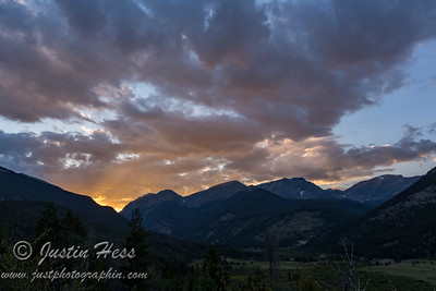 Rocky Mountain Sunset 08-18-2017