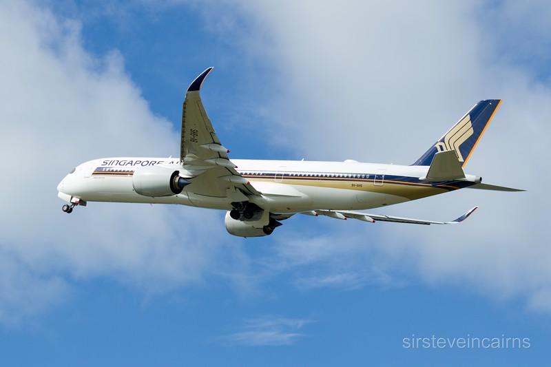 9V-SHS SINGAPORE AIRLINES A350-900