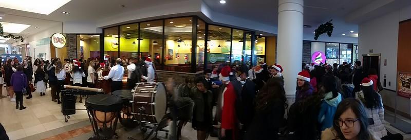 Mall Christmas Concert SJHS 2016