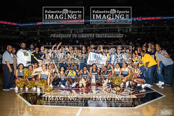3A State Basketball Championship Keenan vs Wade Hampton
