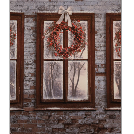 Wreath Window