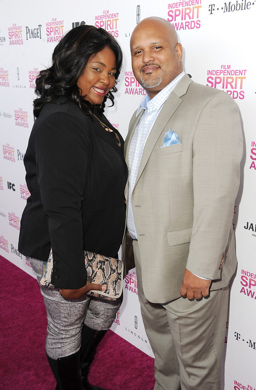 . SANTA MONICA, CA - FEBRUARY 23:  Producer Paul Garnes (R) attends the 2013 Film Independent Spirit Awards at Santa Monica Beach on February 23, 2013 in Santa Monica, California.  (Photo by Kevin Winter/Getty Images)