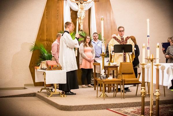 Ava and Jill baptism