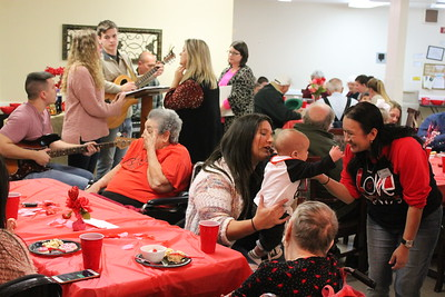 Focused Care of Center hosts Valentine's Family Night