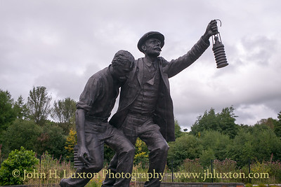The Welsh National and Universal Coal Mining Memorial Garden