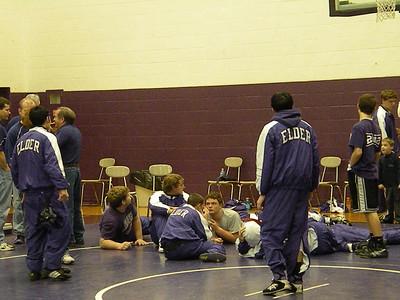 2008-2009 Varsity Wrestling vs. Carlisle