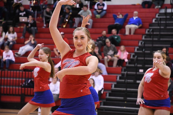 Dance Team Aurora Basketball game