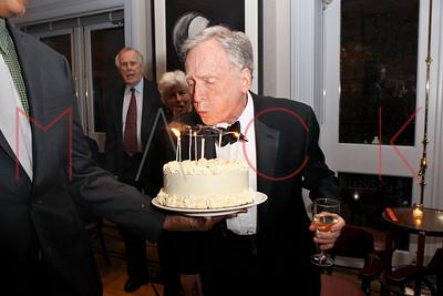 New York, NY - January 23:  The Birthday Celebration for Dick Cavett, New York, USA.