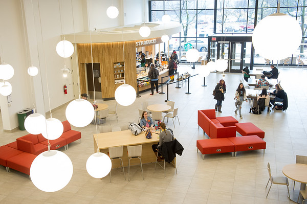 3/3/20 Academic Commons in E.H. Butler Library