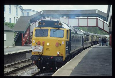 50002 Preservation debut April 1992