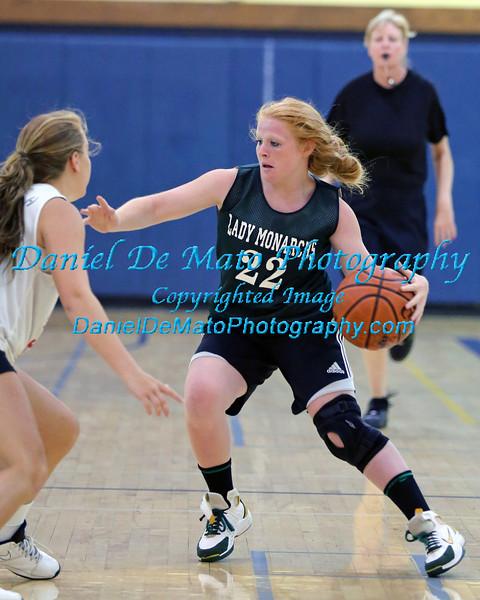 Bishop McGann Mercy vs Southold womens summer basketball