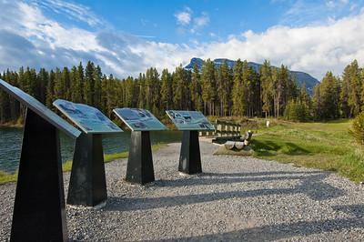 Johnston Lake - Banff Nat'l Park