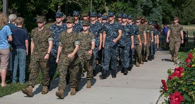 2017 Michael Buchanan NROTC Swearing In ISU August 2017