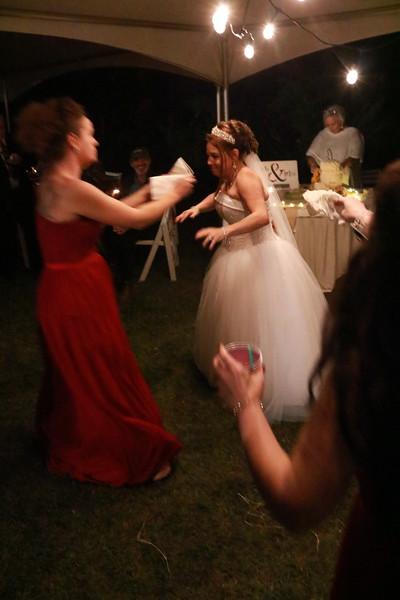Gina Sims Cain Wedding - Reception