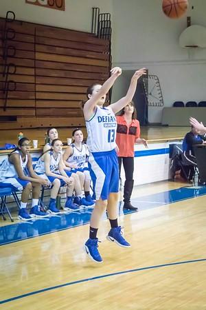 DHS Girls Basketball 02-13-2017