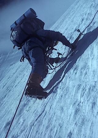 Mt Robson  Traverse 1980
