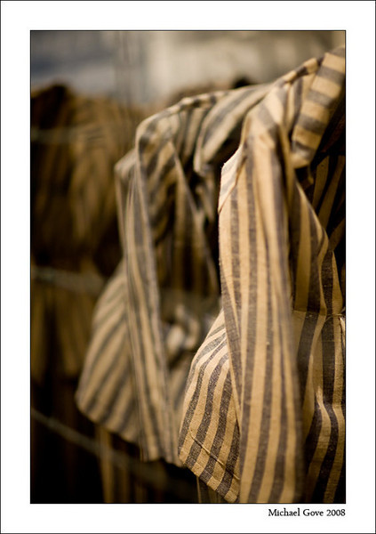 Graphic installation depicting rows and rows of prisoners uniforms (94618848).jpg