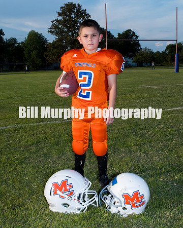 2017 1st & 2nd Grade Orange Team, Marshall Co. Little League Football
