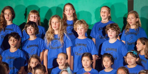 2014 Almond Jr Olympics and Chorus