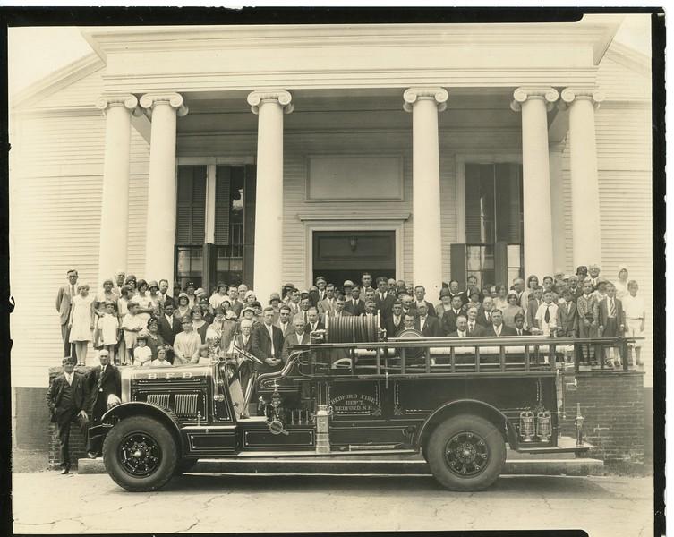 Sanford Fire Truck, 1930