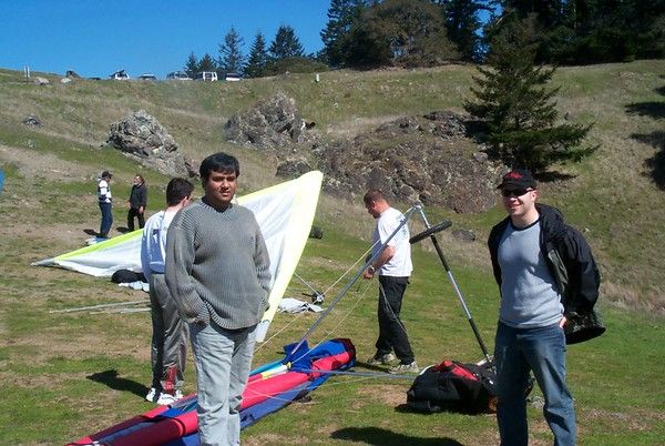 Hang Gliding from Mt. Tam to Stinson Beach