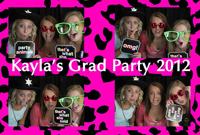 Kayla's Graduation Party 2012