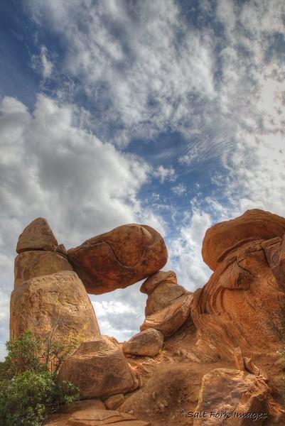 Balanced Rock - Grapevine Hills Area - Big Bend National Park - Texas