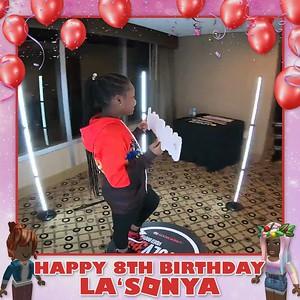 La'sonya's 8th Birthday