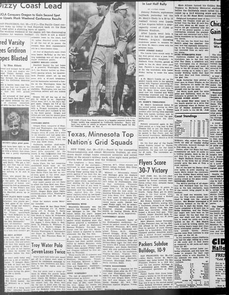 Daily Trojan, Vol. 33, No. 30, October 21, 1941