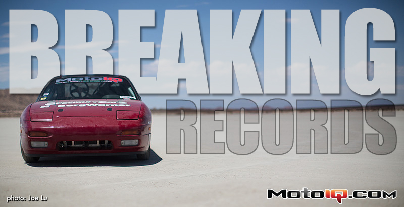 project 240sx land speed racer, record pass