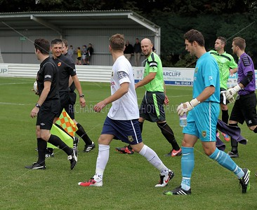 Chippenham Town V Yate Town FA Cup 1Q Round
