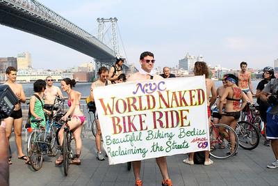 NYC Naked Bike Ride