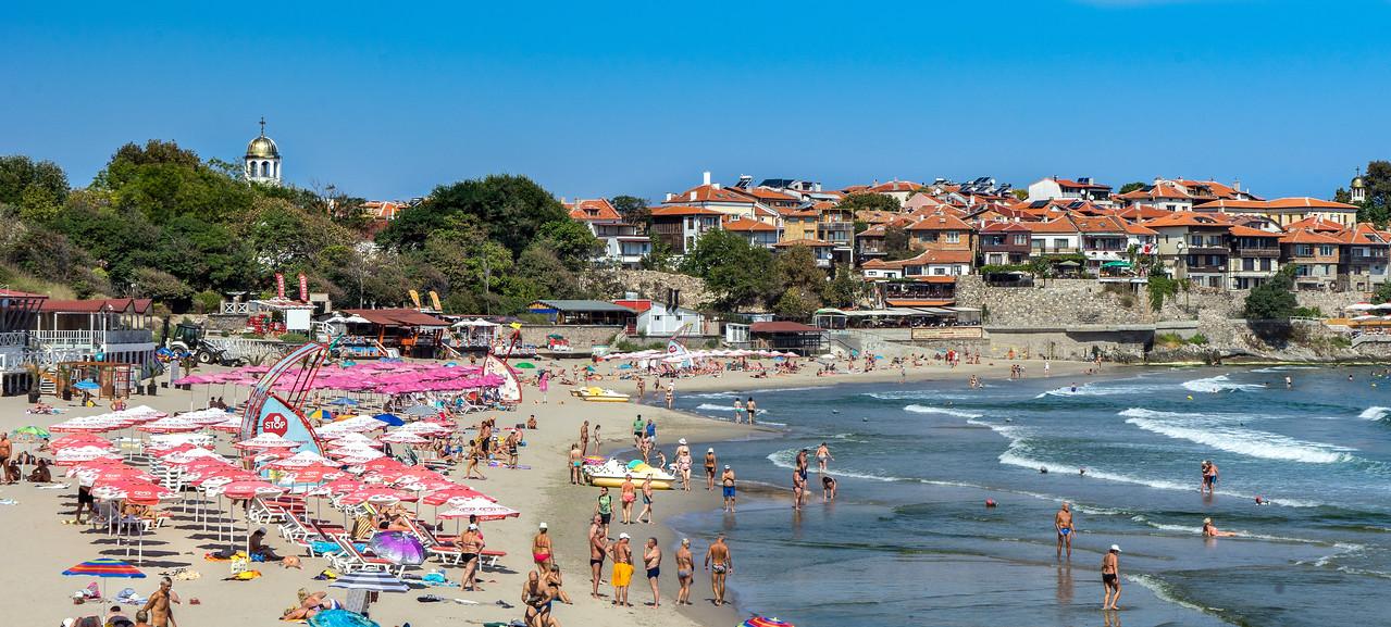 Bulgarian Beach Town Sozopol