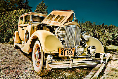 aaWOOOGGaaa! Make way for this1934 Packard