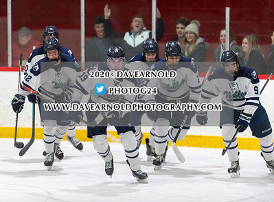 1/29/2020 - Boys Varsity Hockey - Nobles vs St. Sebastian's
