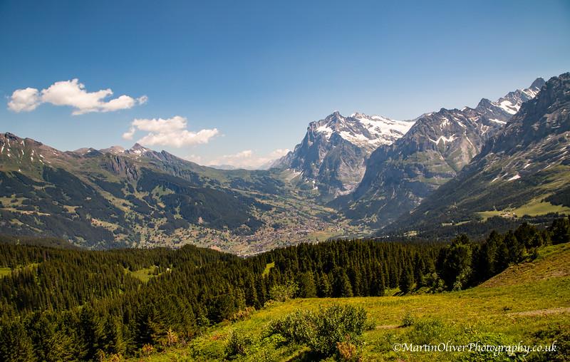Männlichen to Alpiglen Walk