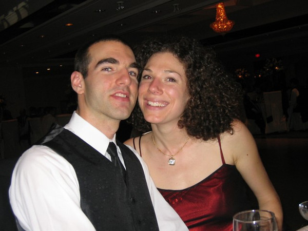 Jonathan and Erika at Ali and Barak's wedding