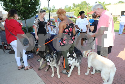 8/16/18 Pooches On The Patio by David Thomas
