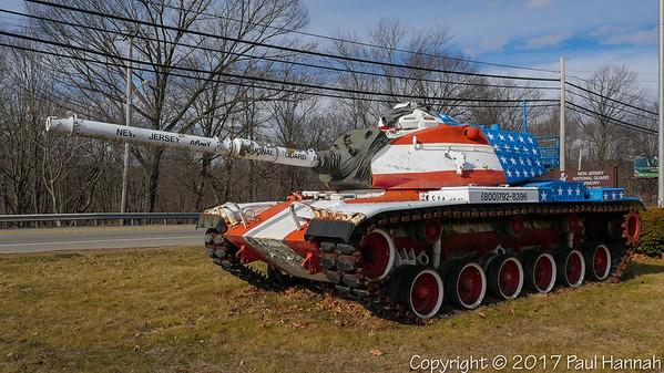 NJ ARNG Armory – Dover, NJ – M60A3 TTS