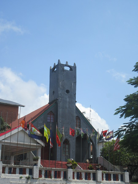020_Monrovia. Providence Baptisit Church. 1821. Liberia oldest church. Where Liberia's Declaration of Independence was signed.JPG