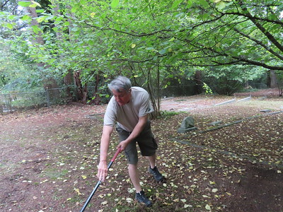 Tracyton Cemetery clean up - Sep 22