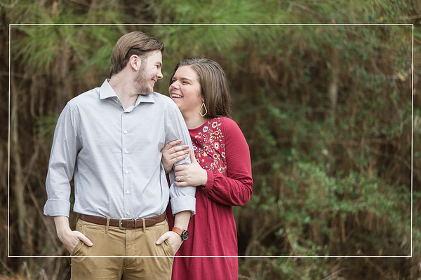 The Carriage House - Connie + Everett - Engagement Session