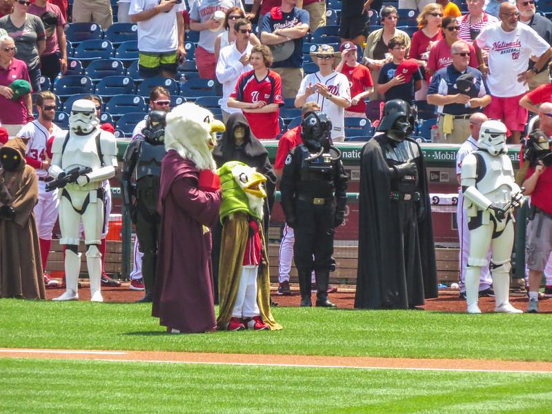 Star Wars Day at Nationals Park